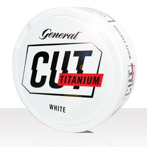 General Cut White Titanium 10 cans (includes free shipping)