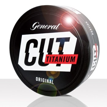 General Cut Titanium Original 10 cans (includes free shipping)